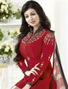 photo of Ayesha Takia Red Straight Cut Churidar Dress In Crepe