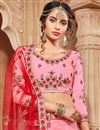 photo of Embroidered Fancy Function Wear Banarasi Silk Lehenga Choli