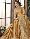 photo of Georgette Fancy Party Style Saree with Stylish Blouse
