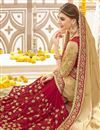 photo of Wedding Bridal Wear Georgette Embroidered Saree