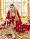 photo of Designer Georgette Fancy Embellished Bridal Saree