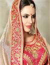 photo of Eid Special Embroidered Cream Georgette And Art Silk Fancy Saree