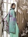 photo of Crepe Casual Style Printed Palazzo Salwar Suit In Light Cyan