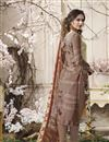 photo of Casual Wear Printed Suit In Crepe With Churidar