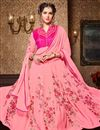 photo of Function Wear Designer Georgette And Bhagalpuri Fabric Anarkali Salwar Suit