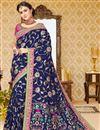 image of Function Wear Uppada Silk Designer Fancy Saree