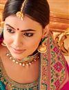 photo of Traditional Uppada Silk Pink Designer Fancy Saree