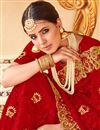 photo of Net Designer Traditional Red Saree