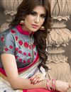 photo of Party Wear Georgette Saree With Stylish Blouse