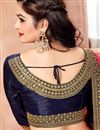 photo of Function Wear Designer Embellished Saree In Crepe