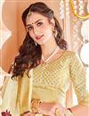 photo of Art Silk Function Wear Beige Designer Fancy Saree
