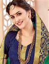 photo of Designer Art Silk Function Wear Dark Green Fancy Saree