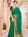 image of Function Wear Dark Green Designer Art Silk Fancy Saree