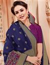 photo of Navy Blue Function Wear Designer Art Silk Fancy Saree