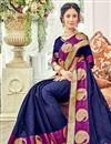 photo of Wedding Function Wear Cotton Silk Saree With Weaving Work