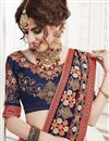 photo of Embroidered Sangeet Function Georgette Saree