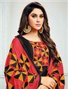 photo of Black Straight Churidar Dress With Thread Work