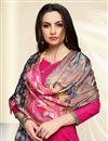 photo of Straight Cut Cotton Churidar Salwar Kameez With Printed Dupatta