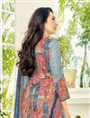 photo of Karishma Kapoor Straight Cut Cotton Printed Salwar Kameez