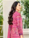 photo of Karishma Kapoor Cotton Pink Casual Printed Salwar Suit