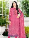 image of Karishma Kapoor Cotton Pink Casual Printed Salwar Suit