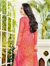 photo of Karishma Kapoor Casual Printed Salwar Suit In Peach Cotton