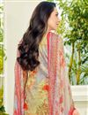 photo of Karishma Kapoor Cotton Casual Wear Printed Suit In Chikoo