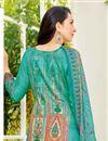 photo of Karishma Kapoor Cotton Cyan Printed Casual Dress