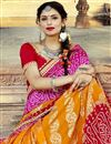 photo of Multi Color Georgette Occasion Bandhani Style Wear Saree