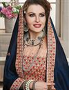 photo of Border Work Fancy Georgette Wedding Wear Saree