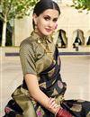 photo of Designer Art Silk Fabric Function Wear Saree In Black