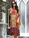 image of Linen Daily Wear Cream Printed Readymade Kurti