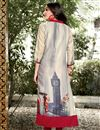 photo of Daily Wear Casual Printed Readymade Kurti In Linen In Plus Size