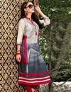 image of Daily Wear Casual Printed Readymade Kurti In Linen In Plus Size