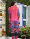photo of Printed Linen Office Wear Readymade Kurti In Pink In Plus Size