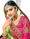 photo of Banarasi Fabric Designer Embellished Lehenga Choli In Orange