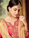 photo of Designer Fancy Embroidered Pink Patiala Dress With Fancy Dupatta