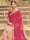 photo of Bandhej Print Fancy Saree In Georgette Fabric