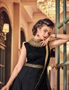 photo of Best Selling Party Wear Embroidered Anarkali Suit In Banglori Silk Fabric