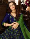 photo of Green Georgette Festive Wear Printed Saree