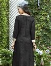 photo of Black Color Designer Kurti In Rayon Fabric