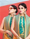 photo of Jacquard Work On Mustard Art Silk Function Wear Saree