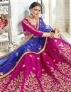 photo of Banglori Silk Fabric Magenta Occasion Wear Lehenga Choli With Embroidery Work