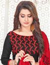 photo of Casual Party Style Cotton Black Embroidered Designer Salwar Suit