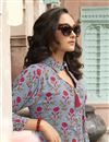 photo of Soothing Rayon Fabric Designer Printed Kurti In Grey