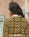 photo of Light Brown Rayon Fabric Festive Wear Kurti With Print Designs