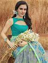 photo of Grey Fancy Festive Wear Printed Saree In Georgette Fabric