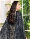 photo of Karishma Kapoor Fancy Printed Satin Fabric Salwar Kameez