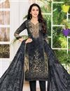 image of Karishma Kapoor Satin Fabric Printed Office Wear Salwar Kameez