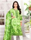 image of Karishma Kapoor Green Embellished Fancy Designer Suit